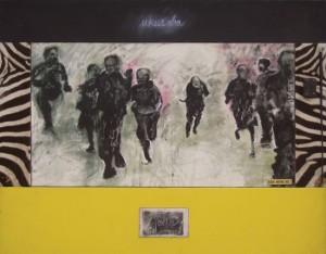 Boere Wapens 1652 mixed media by Victor Gordon
