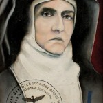 Painting of St Edith Stein by Victor Gordon