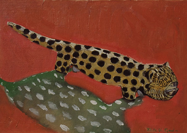 Leopard series painting