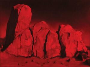 Sanguine Terminus at White Rocks by Victor Gordon