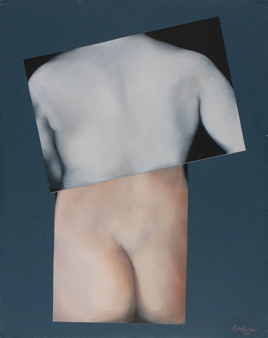 Painitng of torso fragments by Victor Gordon