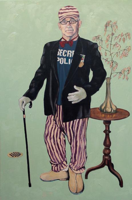 Agent Orange Self Portrait Victor Gordon