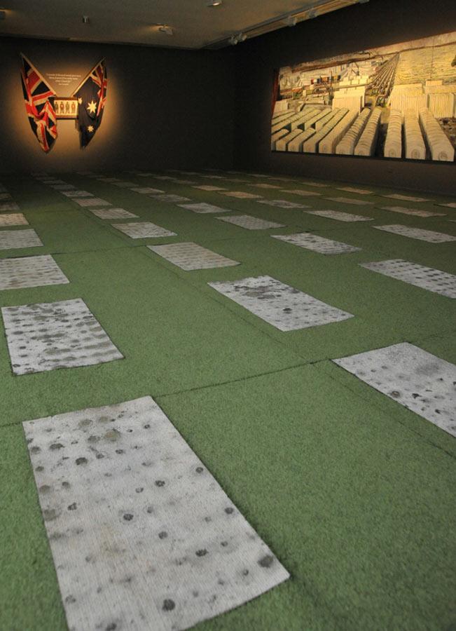 Photo of Memorate installation
